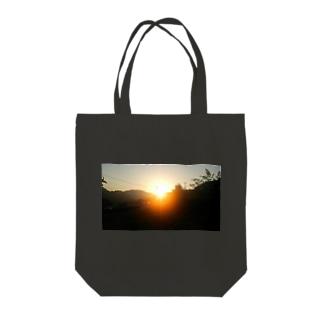 朝焼けA Tote bags