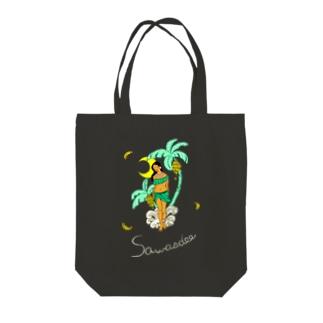 タイの妖怪「ナーンターニー」 BLACK Tote Bag