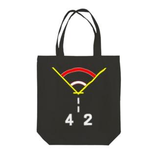 着艦標識旧型「ひえい」 Tote bags