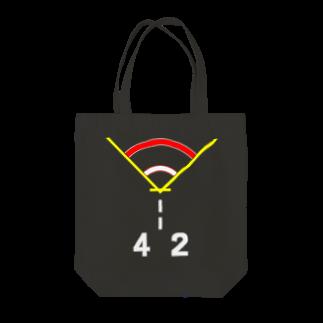 酒樽 蔵之介の着艦標識旧型「ひえい」 Tote bags