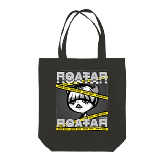 『NoataN:KeepOut ToteBag』 Tote bags