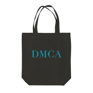 DAMN DMCA Tote bags