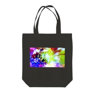 flowering  1st Tote bags