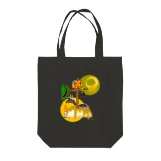 いたずらパンプキンプリン Tote bags