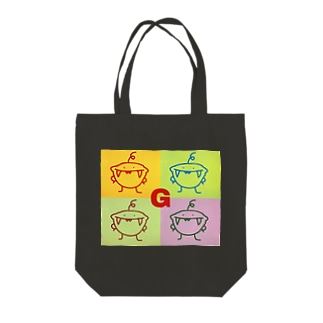 スマイルG Tote bags