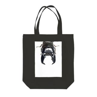 スマトラオオヒラタグッズ Tote bags