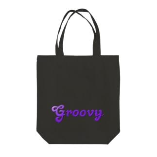 GROOVY Tote bags