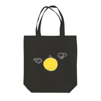 まんまるなお月さま Tote bags