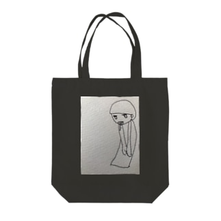 メンヘリウムちゃん Tote bags