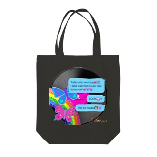 Butterfly World Tote bags