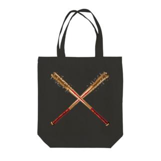 釘バット Tote bags