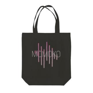 桃子スタイリッシュ Tote bags