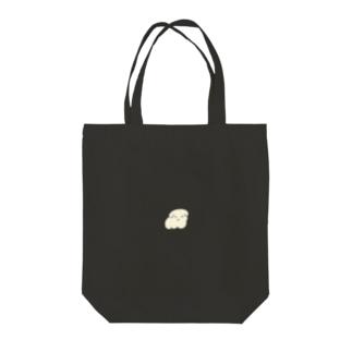 犬マシュマロ Tote bags