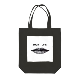 YOUR LIPS Tote bags