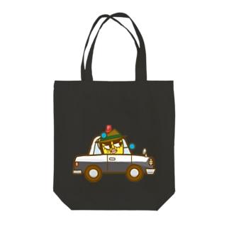 イネカリ警部の旧式パトカー Tote bags