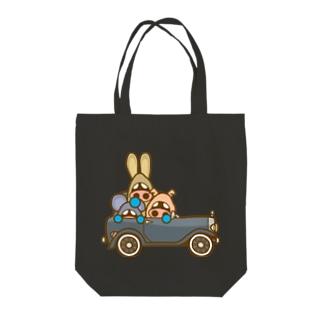 イタダキ団のクラシックカー Tote bags