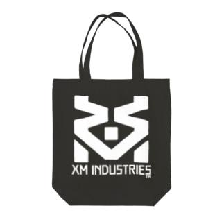 XM工業ロゴ_W Tote bags