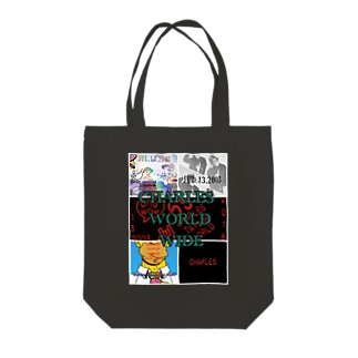 CHARLES WORLD Tote bags
