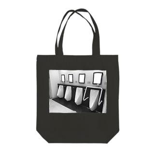 ダイキノ ノ トイレ Tote bags
