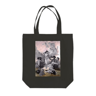 解剖学とヴィーナスの誕生 Tote bags