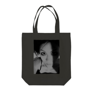 [Strychnine] zAkro フォトカード柄~壱~(モノクロ) Tote bags
