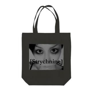 [Strychnine] zAkro フォトカード柄~弐~(モノクロ) Tote bags