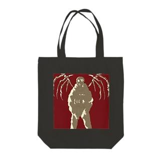 骨翼のガスマスク隊 Tote bags