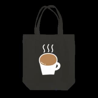 Ochieのなみなみカフェオレ(白) Tote bags