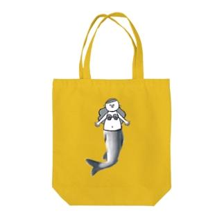 人魚のアユちゃん Tote bags