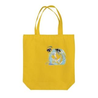 福笑いchan Tote bags