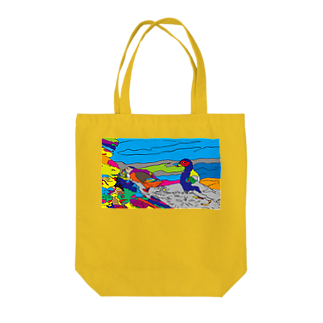 kkktttのパフィンちゃん Tote bags