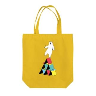 バランスシロクマ Tote bags