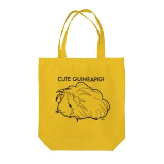 かわいいモルモット (ペルビアン) Tote bags