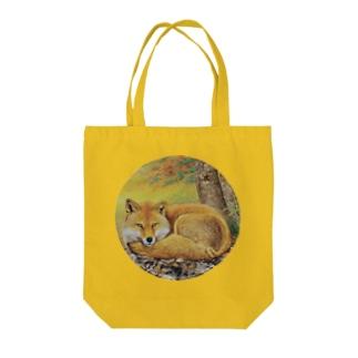 錦秋 Tote bags