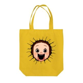ブレイクしょーちゃん Tote bags