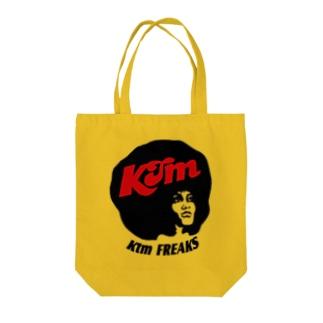 FUNKYアフロ Tote bags