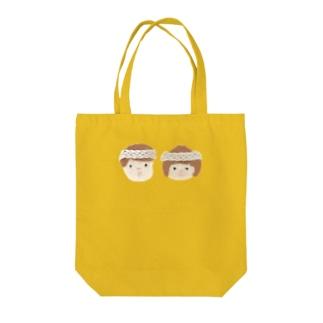 男の子と女の子 Tote bags
