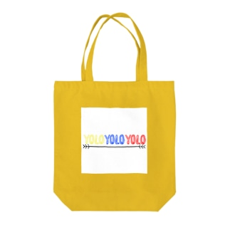 YOLO Tote bags