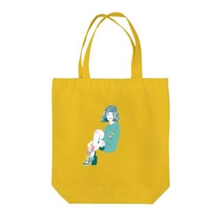 サブカル女子 Tote bags