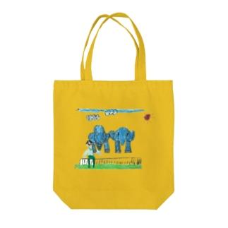 りしゆな:ゾウさん by はせりょう Tote bags