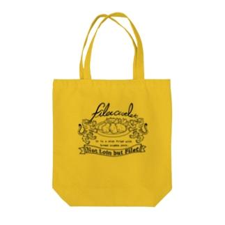 ヒレカツデザイン Tote bags