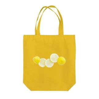 とれたてレモン Tote bags