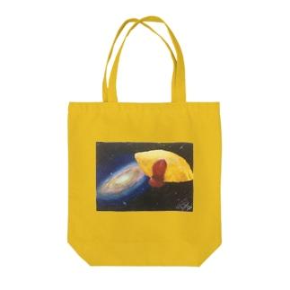 宇宙の隣の日常 Tote bags