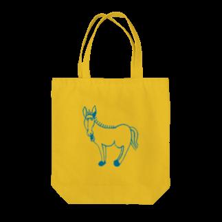 くらきちのロバ Tote bags