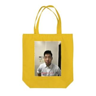 イケてるトンカチくん Tote bags