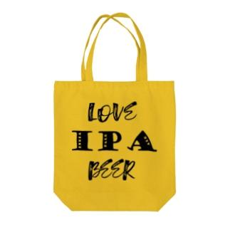 love IPA beer [Black] Tote bags