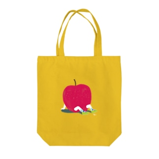 Apple Boy Tote bags
