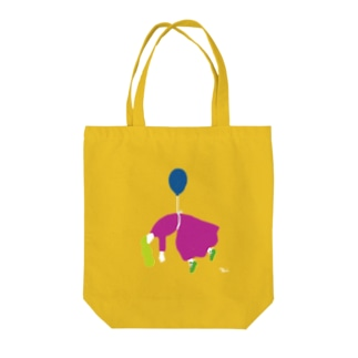 Balloon Girl Tote bags