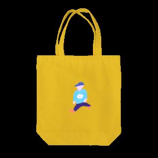 yuppo_pawpawの大股で歩く人 Tote bags