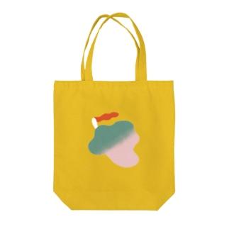 kemuri girl3 Tote bags